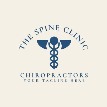Spine Clinic Logo Generator 1491a