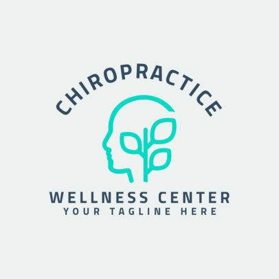 Logo Maker for Spine Wellness Center 1491b