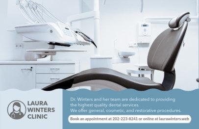 Professional Dental Clinic Flyer Maker #489e