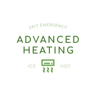 Logo Creator for Advanced Heating Company 1503c
