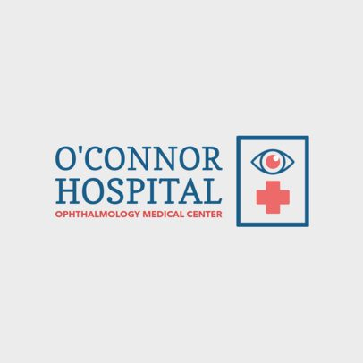Ophthalmology Care Center Logo Generator 1514e