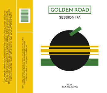 Session IPA Beer Label Template 767e