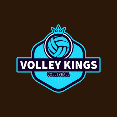 VolleyBall Club or Team Logo Maker 1499e