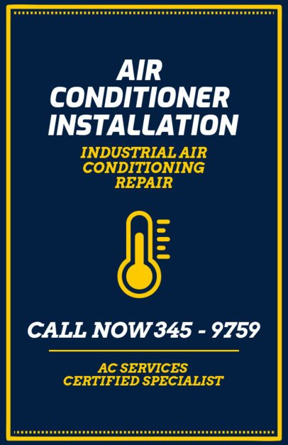 Flyer Maker for an AC Certified Specialist 730a