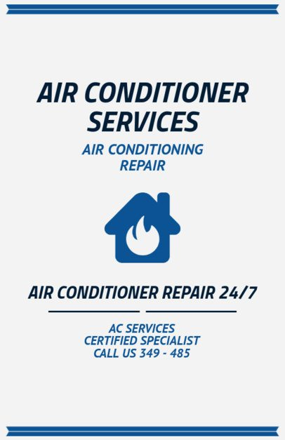 AC Repair Services Flyer Generator 730b