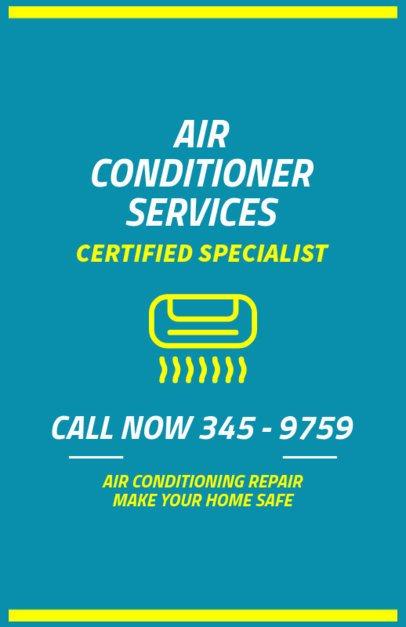 HVAC Certified Professional Flyer Maker 730d
