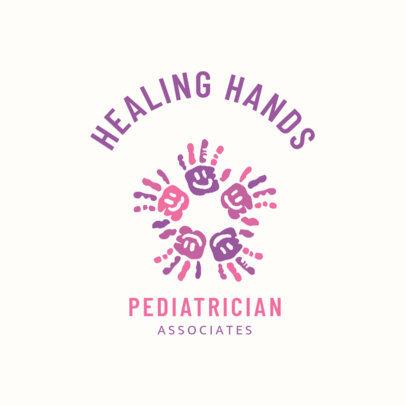 Customizable Pediatrician Logo Design Template 1532