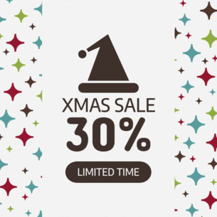 Cute Xmas Sale Ad Maker 784e