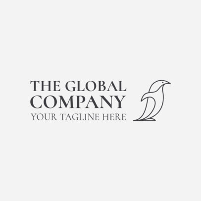 Global Company Logo Maker 1520b