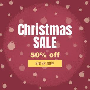 Christmas Season Sale Ad Creator 774a