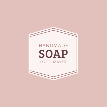 Handmade Soap Logo Maker 1159a