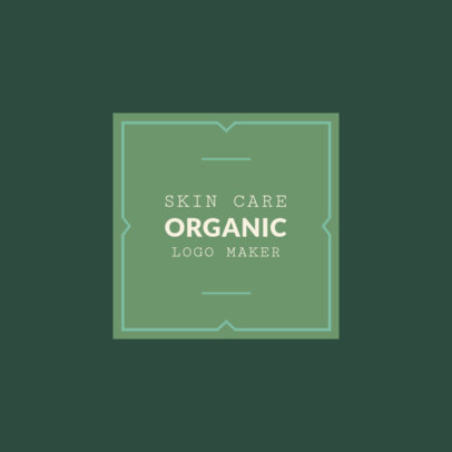 Logo Creator for Organic Skin Care 1159b