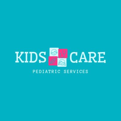 Medical Logo Creator to Design a Pediatrician Logo 1534d