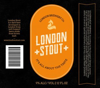 Classic Stout Beer Label Maker 766e