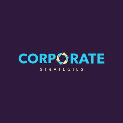 Abstract Logo Generator for a Corporate Business 1528