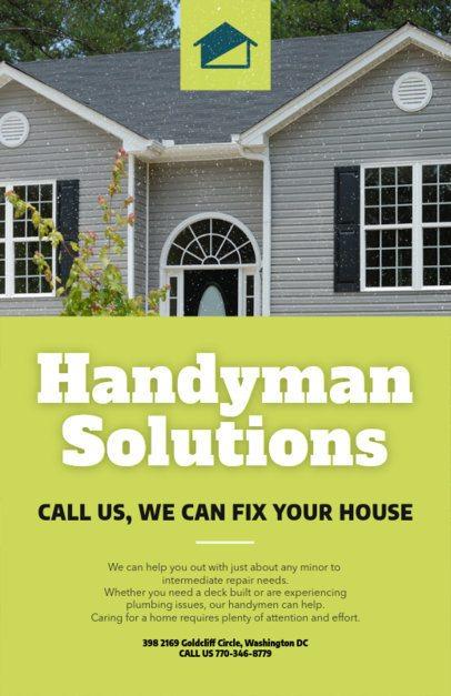 Handyman Solutions Flyer Maker 739a-1819