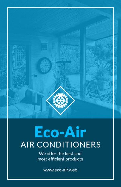 Efficient AC Company Flyer Template 731c