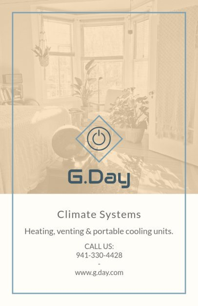 Flyer Maker for Climate Systems Installation 731d