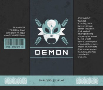 Beer Label Maker for a Lucha Themed Beer Label Design 765a