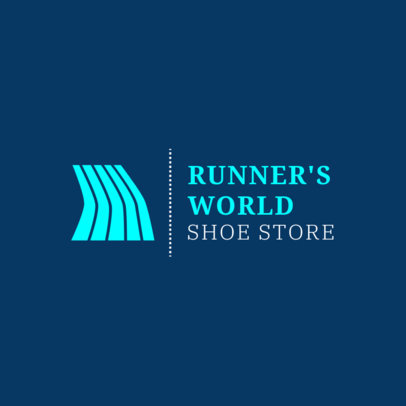 Running Logo Maker for a Running Shoe Store 1543b