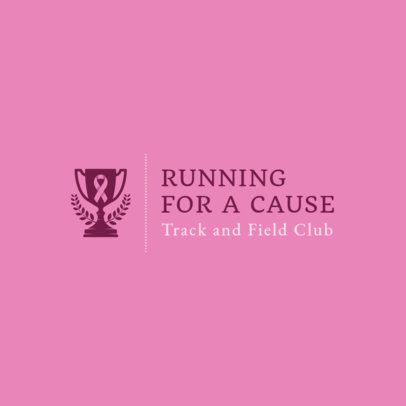 Running  Logo Maker for Awareness Events 1543e