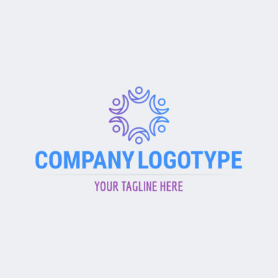 Abstract Logo Template for Companies 1530b