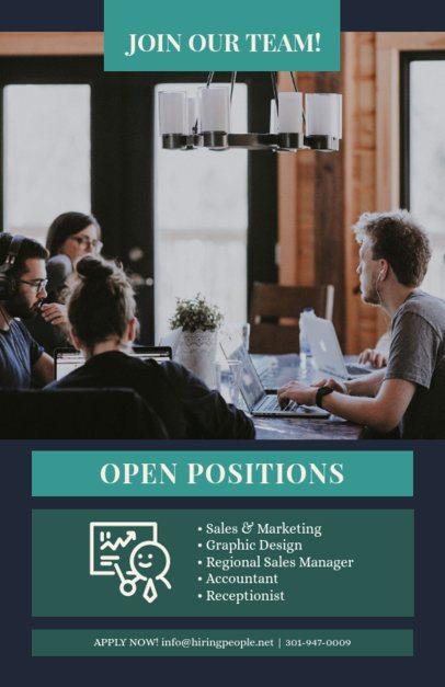 Hiring Campaign Flyer Maker for a Recruitment Agency 726e