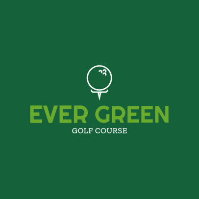 Golf Logo Design Template 1554