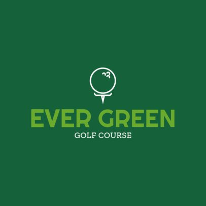 Golf Logo Design Template 1554