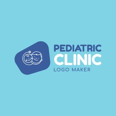 Pediatric Clinic Logo Generator 1536a