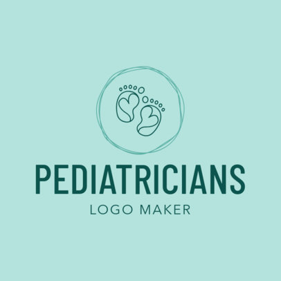 Pediatrician Logo Maker for a Pediatric Clinic 1536d