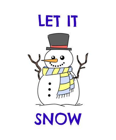 Christmas Snowman T-Shirt Design Maker 835c