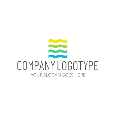 Abstract Logo Maker for a Professional Company Logo 1519b