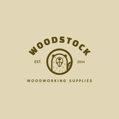 Logo Maker for a Woodworking Supplies Company 1549a