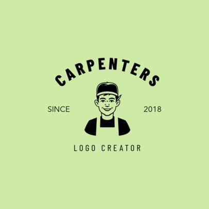 Logo Maker for Carpenters 1549d
