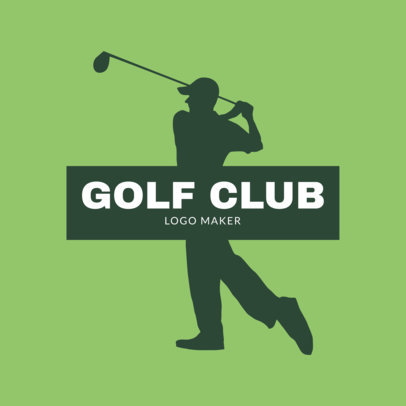 Golf Logo Template for a Golf Club 1555