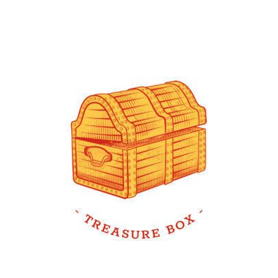 Treasure Chest PopSocket Design Template 689e