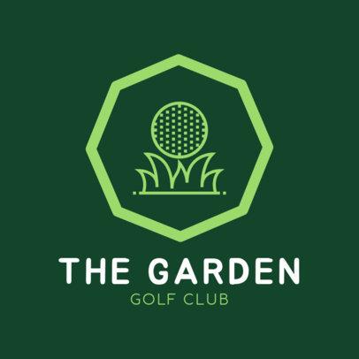 Golf Logo Design Creator 1556a