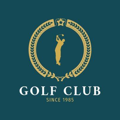 Golf Logo Template for a Golf Club 1556c