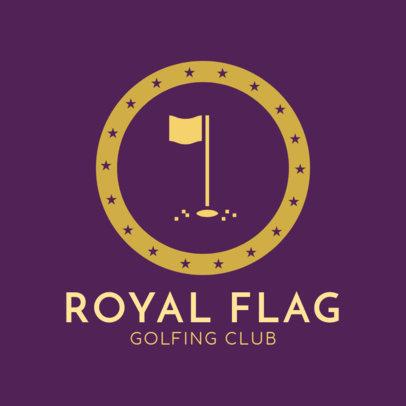Golf Logo Maker for a Golfing Club 1556e