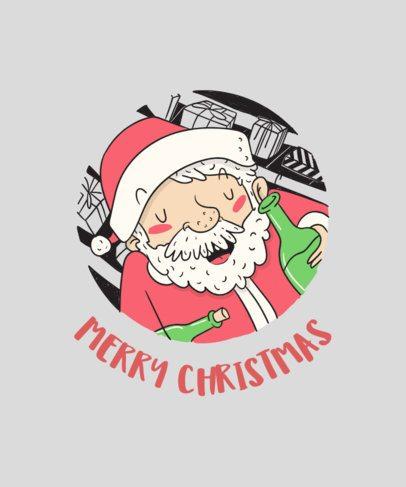 Merry Christmas T-Shirt Design Generator 830e
