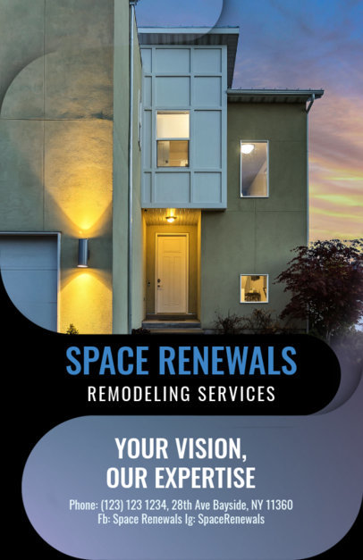 Space Renewals Flyer Template 732b