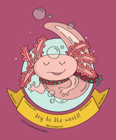 Christmas Tee Design Creator with Animal Graphics 839d