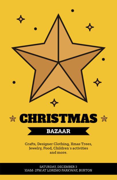 Christmas Bazaar Flyer Maker 861a