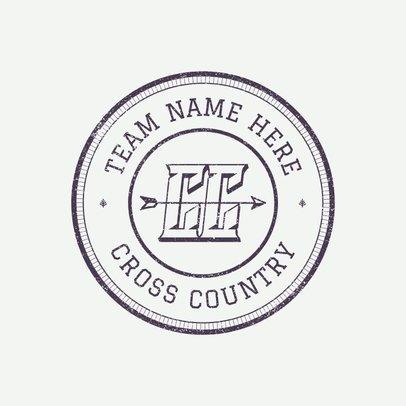 Cross Country Logo Creator 1564