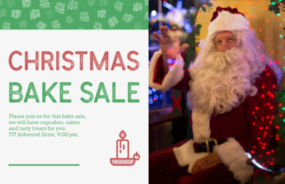 Xmas Flyer Generator for a Bake Sale 860c