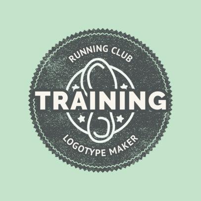 Running Club Logo Generator 1545e