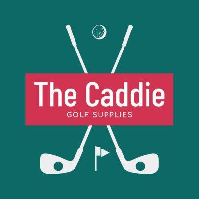 Golf Logo Design Maker for a Golf Supplies Store 1555d