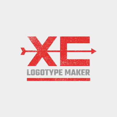Simple XC Logo Maker 1565b