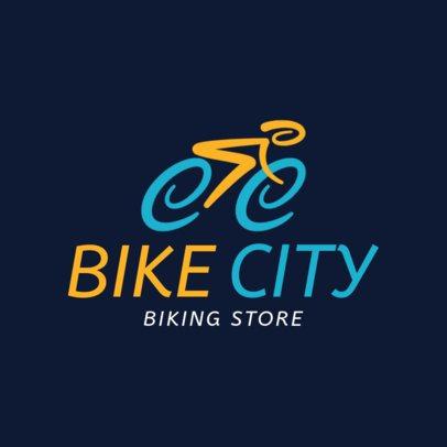 Cycling Logo Maker for a Biking Store 1571